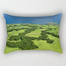 Typical Azores landscape Rectangular Pillow