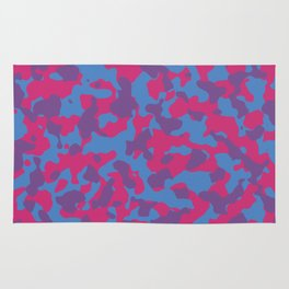 Trending Colors Girly Camouflage Rug