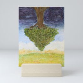 The Plain of Winds (in the Earthlight) Mini Art Print