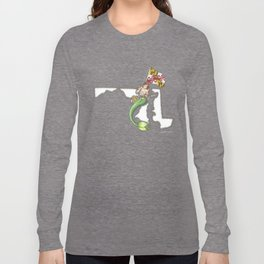 Maryland Mermaid Long Sleeve T-shirt