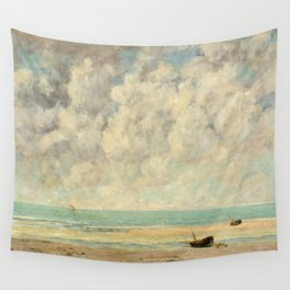The Calm Sea - Gustave Courbet Wall Tapestry
