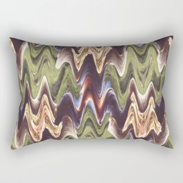 Zigzag Garden Rectangular Pillow