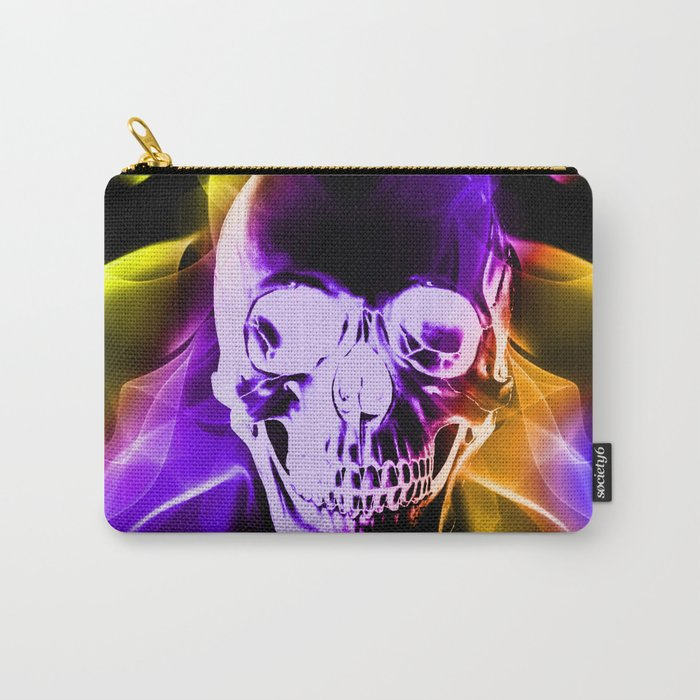 Smokey Skull Carry-All Pouch