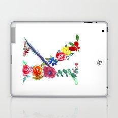 monograms - K Laptop & iPad Skin