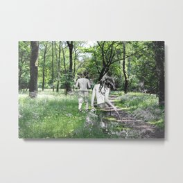 To Christiane Rochefort with Love Metal Print