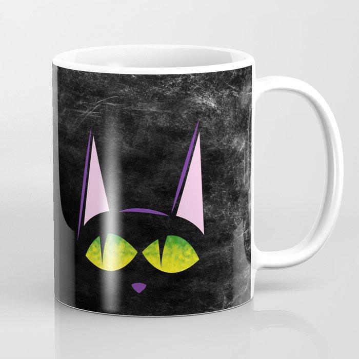 Black Cat Coffee Mug By Ahac Society6