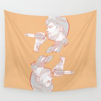 zayn Wall Tapestries featuring Zayn by heyitsmme
