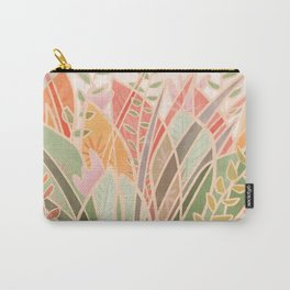 Lively Foliage | Carefree Carry-All Pouch