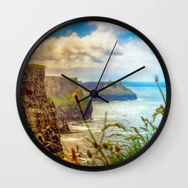 Cliffs of Moher (2) Wall Clock