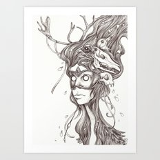 Questionable Art Print