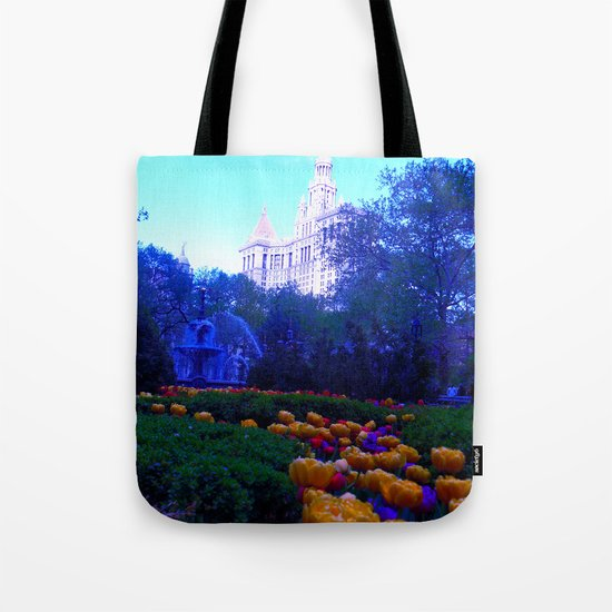 Path of Petals Tote Bag