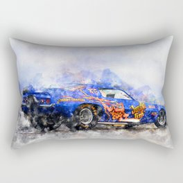 Jim Liberman, Jungle Jim Rectangular Pillow