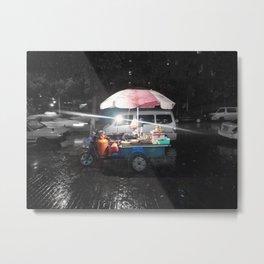 2AM Rain & Sweat in Shanghai Metal Print