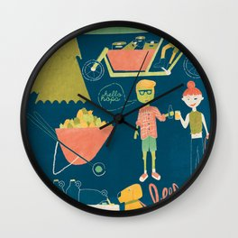 Beer Fest Wall Clock