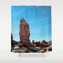 Arches Handstand Shower Curtain