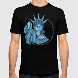 Nasty Lady Liberty T-shirt