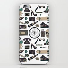 Gallimaufry iPhone & iPod Skin