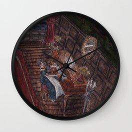 Musical Corner Wall Clock