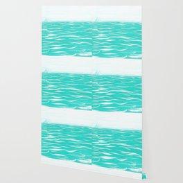 Sailing Across A Turquoise Sea Wallpaper