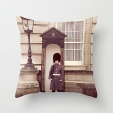 London Guard ♥ Throw Pillow