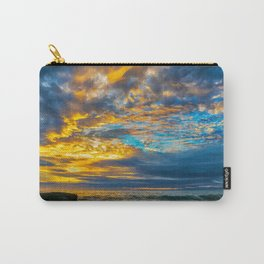 Painted Sky at Sunset, Laguna Beach Carry-All Pouch