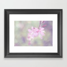 One step at the time Framed Art Print