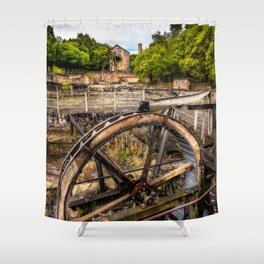 Minera Lead Mines Shower Curtain
