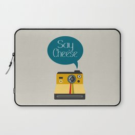 Say Cheese Laptop Sleeve