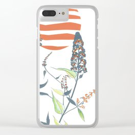 Buddleia Clear iPhone Case