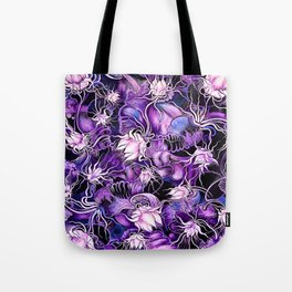 Ghost Lilies Tote Bag