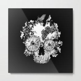 Pretty Dark Metal Print