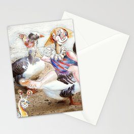Outing With Friends Stationery Cards
