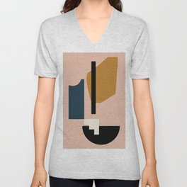 Shape study #2 - Lola Collection Unisex V-Neck