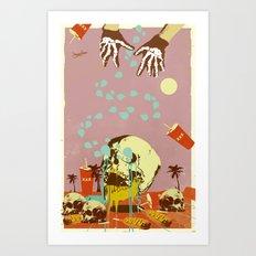 SUMMER SEANCE Art Print