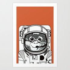 Searching for human empathy 2 Art Print