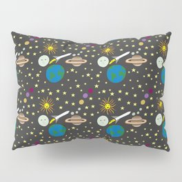 The Space Launch 2018 Pillow Sham