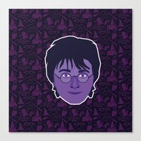 harry Canvas Prints featuring Harry by Kuki