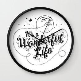 It's a Wonderful Life 2 Wall Clock