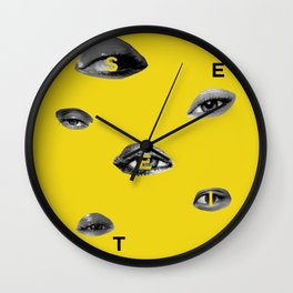 See It Wall Clock