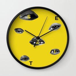 See It Wall Clock