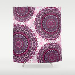 Mandala Forza spirituale Shower Curtain
