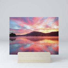 Sunrise: Fire Above and Fire Below Mini Art Print