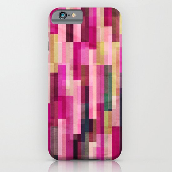 Pinks and Parallels iPhone & iPod Case