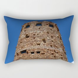 Desert View Watchtower - South Rim Grand Canyon Rectangular Pillow