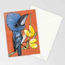 Ned the Blue Bird Stationery Cards