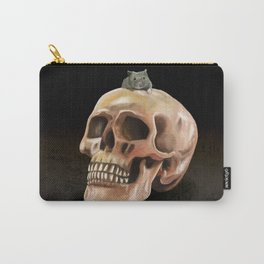 Little mouse and skull Carry-All Pouch