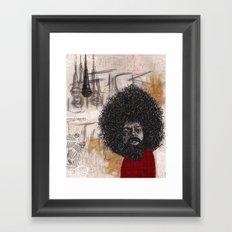 Reggie Framed Art Print