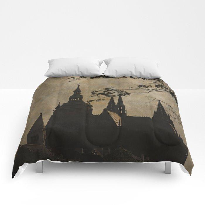 Mysterious Prague Comforters