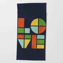 Love is Beach Towel