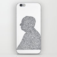 hitchcock iPhone & iPod Skins featuring Hitchcock by S. L. Fina
